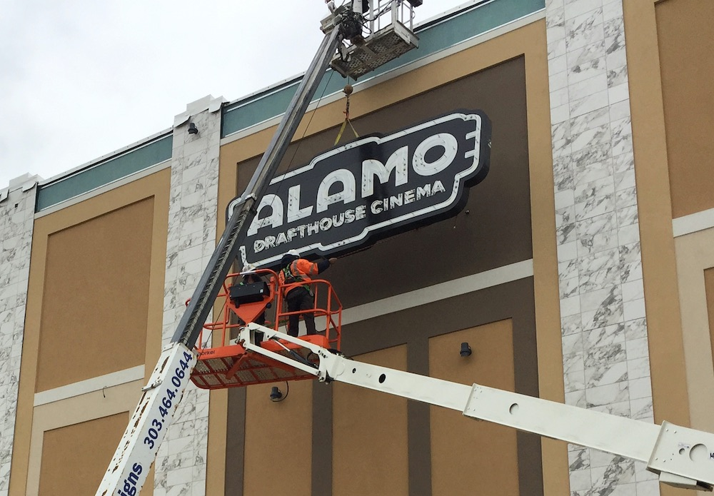 Alamo Cinema Sign